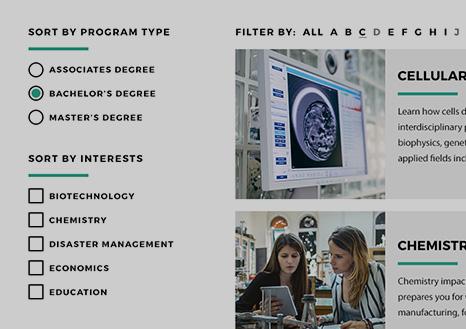 Program Finder Overview