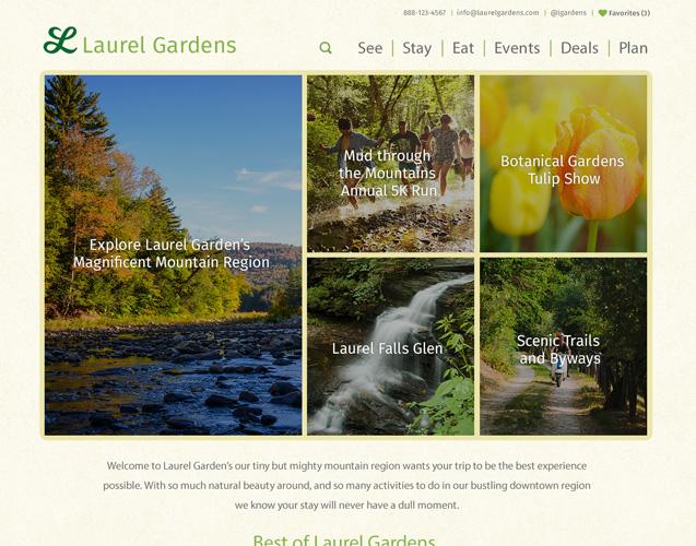 Laurel Gardens Theme