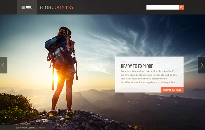 High Country Theme
